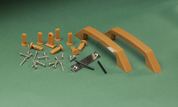 Via Folding Door Hardware Kit