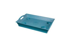 Large Outdoor Serving Tray with Handles