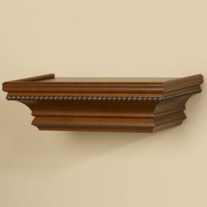 Bijou Ledge Wood Shelving with Baroque Beading