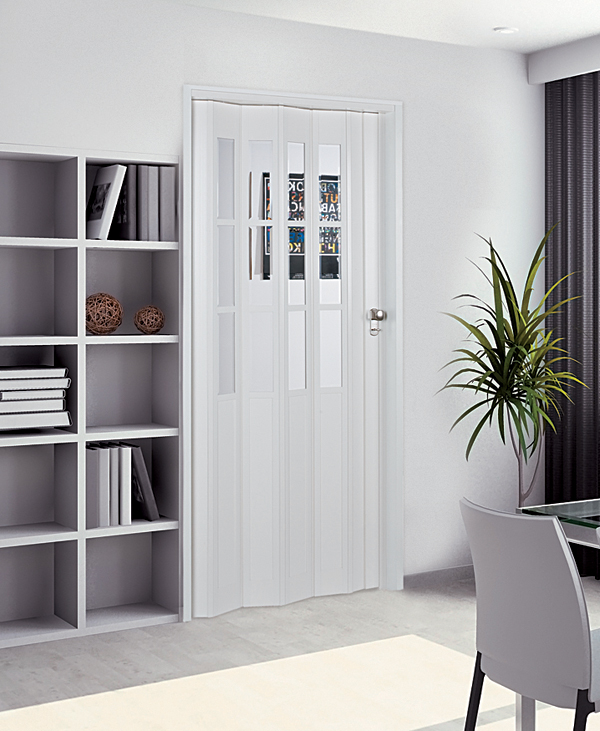 Capri Modern Accordion Folding Door