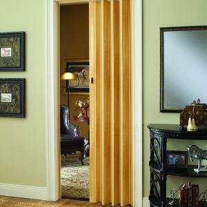 Echo Interior Folding Door With Snap Lock Closure And