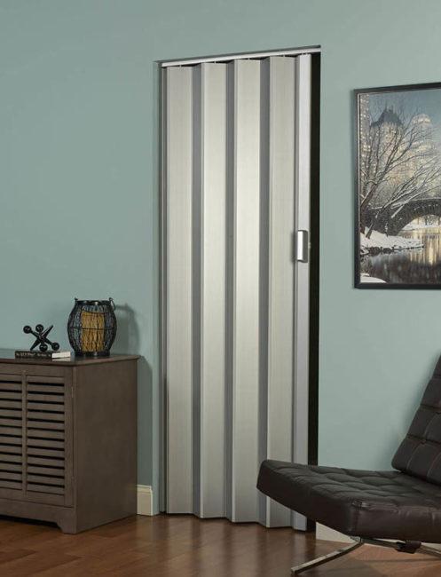 Elite Folding Door Silver