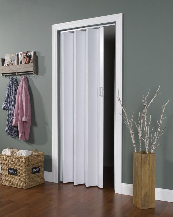 Encore Folding Doors With Energy Efficient Double Vinyl Panels
