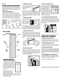 Horizon Folding Door Installation Instructions