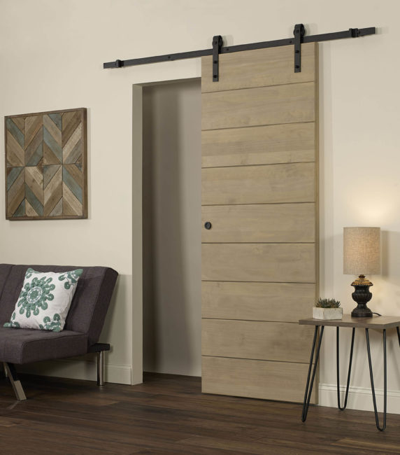 Horizontal Wood Barn Door