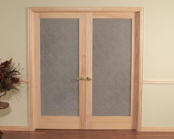Opaque Double Prehung Passage Door