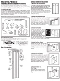 Nuevo Folding Door Installation Instructions