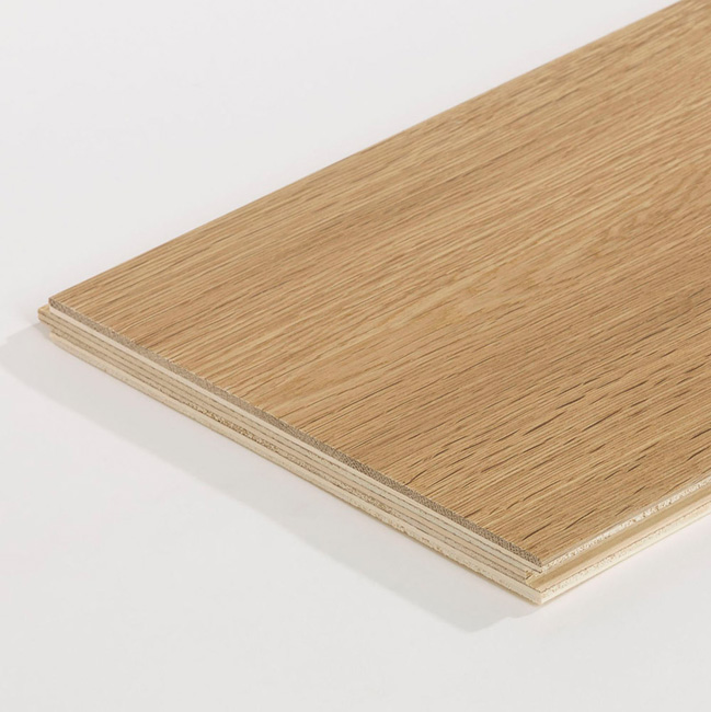 Oak Rustic Smoked Natural Wood Flooring Detail