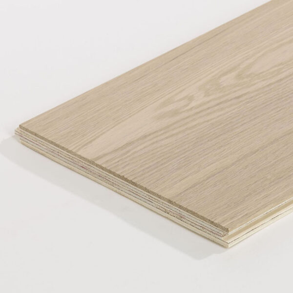 Oak Rustic White Wood Flooring Detail