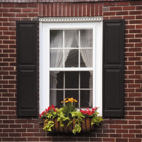 Exterior home shutters wooden window panel design - Raised panel interior window shutters ...