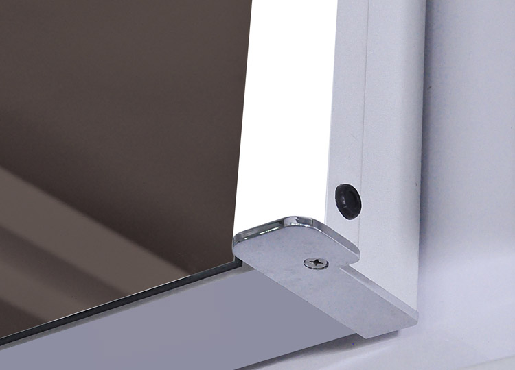 Ace LED Mirror Cabinet Detail