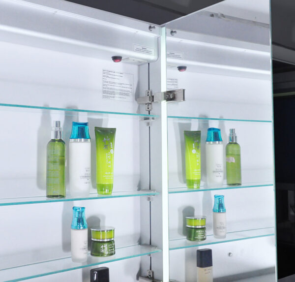 Ace LED Mirror Cabinet Inside