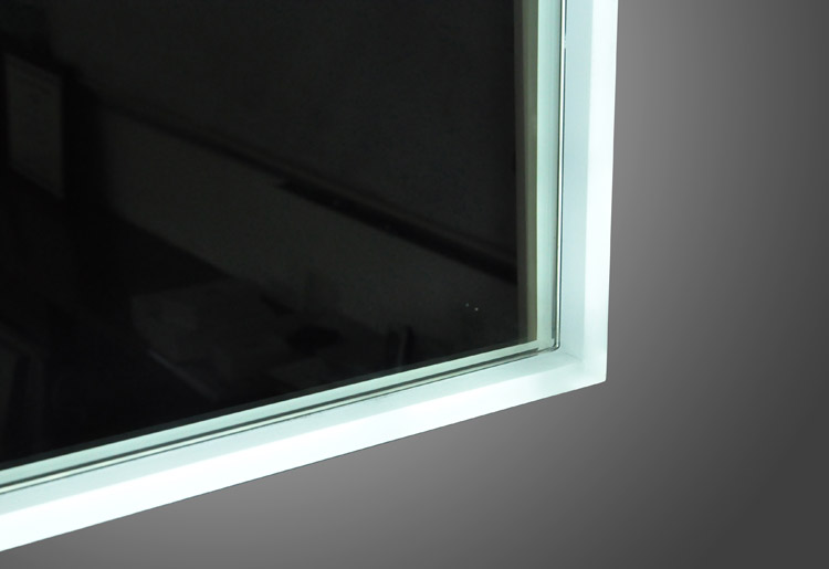 Azure LED Mirror Detail