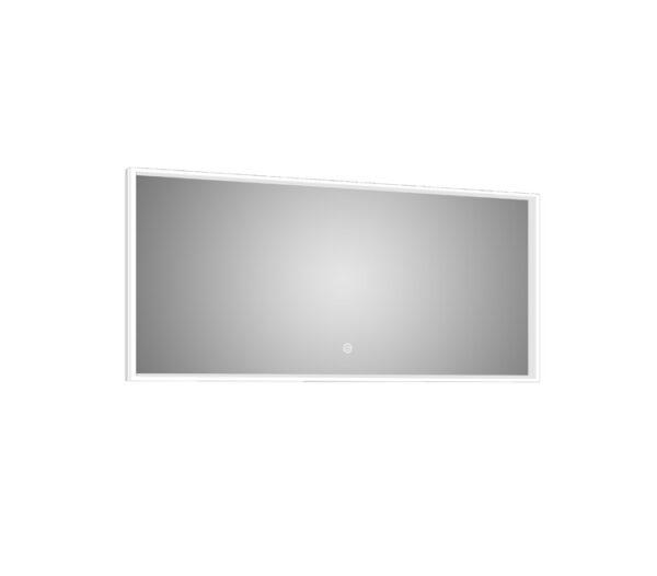 Azure LED Mirror Silhouette