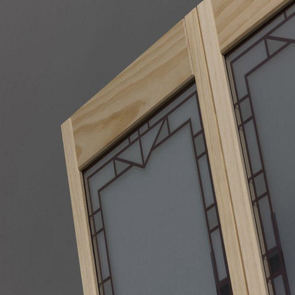Design Tech Glass Bifold Door - Unfinished Detail