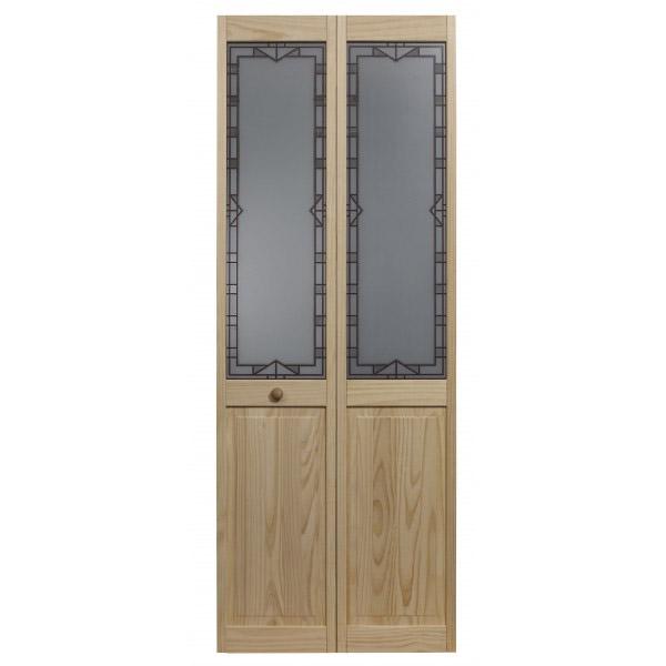 Design Tech Glass Bifold Door - Unfinished