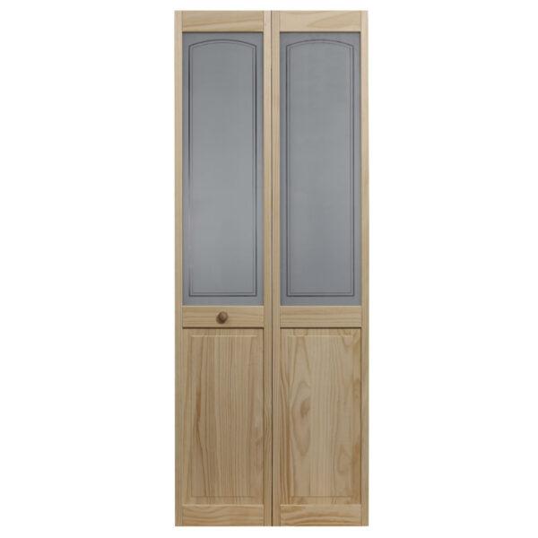 Mezzo Glass Bifold Door - Unfinished