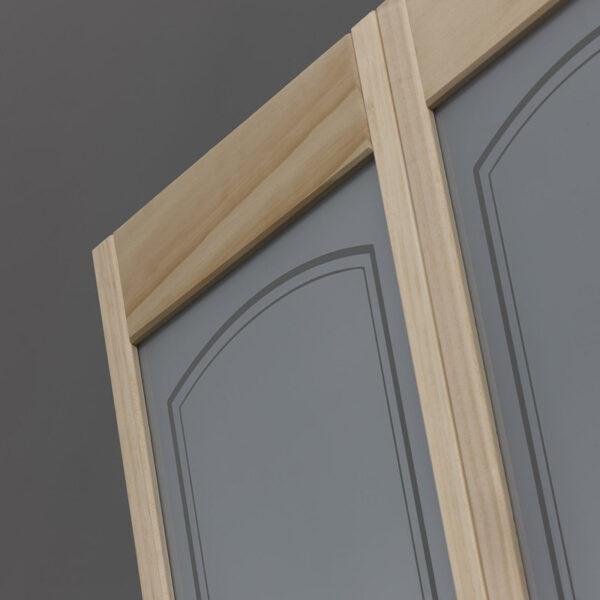 Mezzo Glass Bifold Door - Unfinished Detail