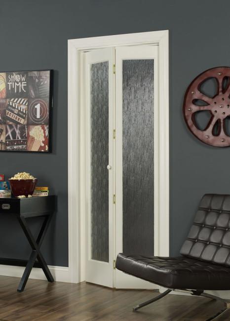 Rain Full Glass Bifold Door