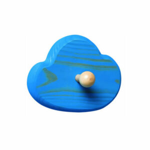 Children's Blue Cloud Coat Hook