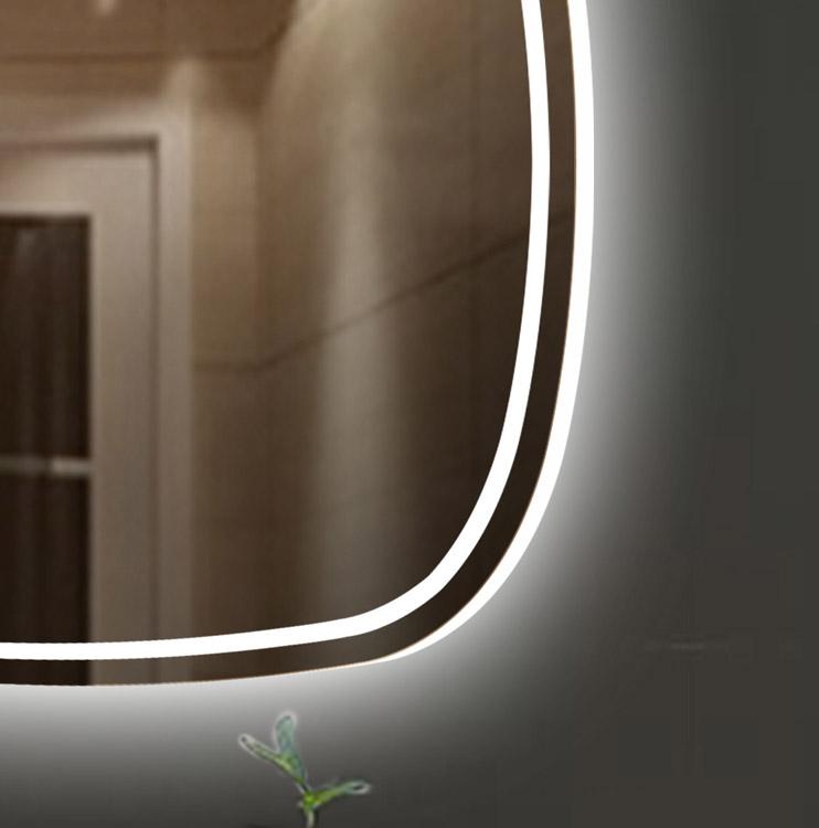 Magnum LED Mirror Detail