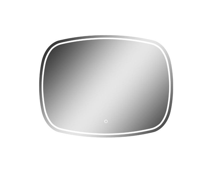 Magnum LED Mirror Silhouette