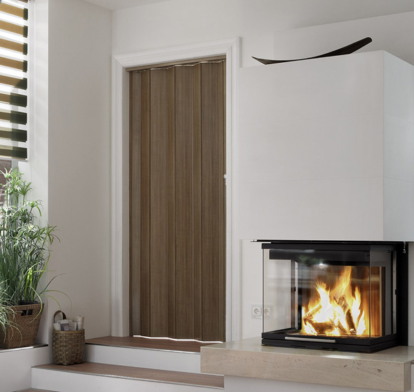 Marquis Accordion Folding Door In Maple Nutmeg Or White