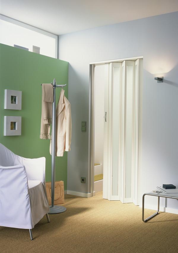 Metro White Turquoise Door