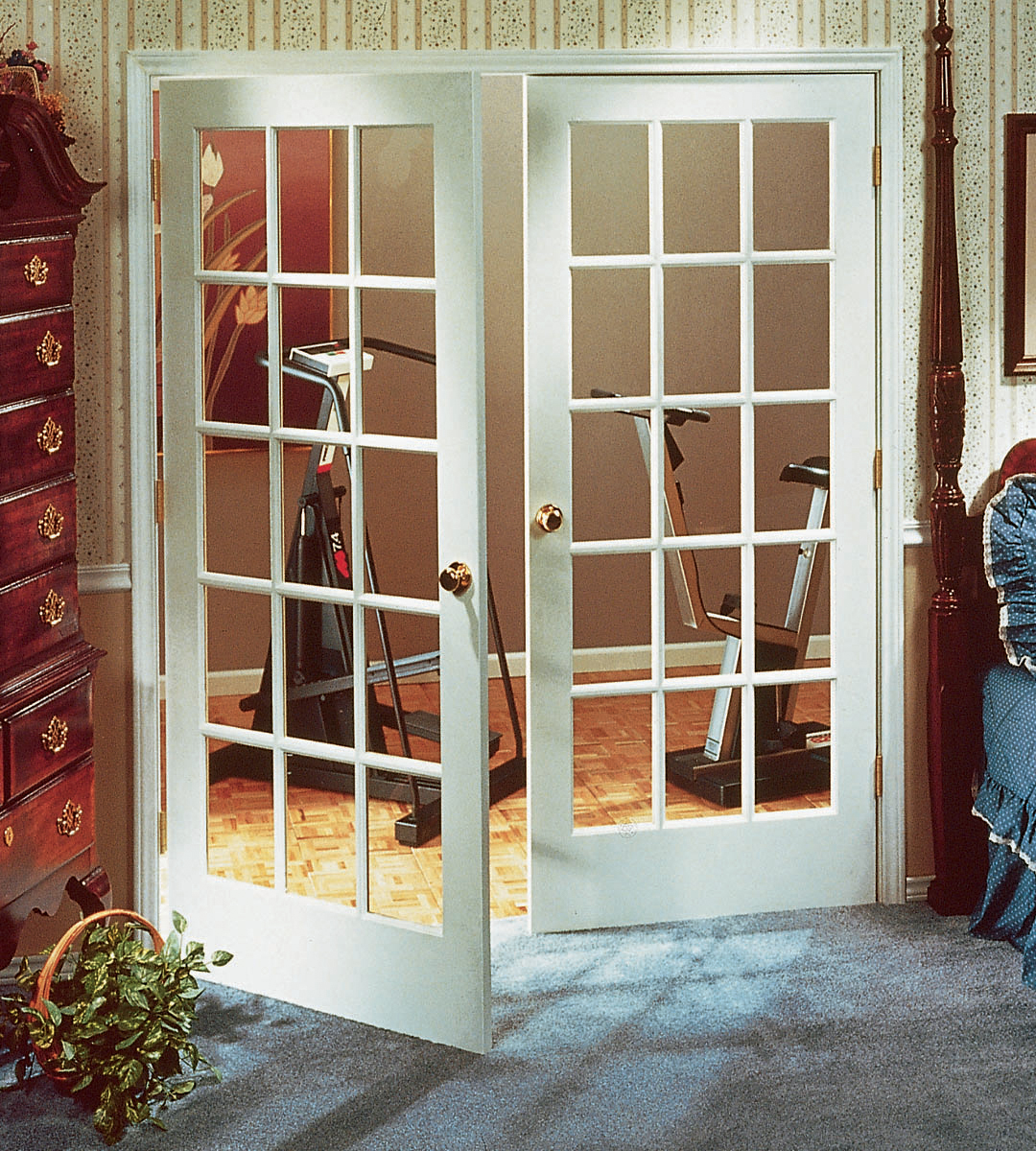 Classic Double Prehung Passage Door