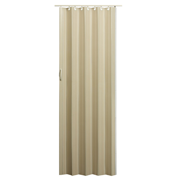 Nuevo Folding Door - Linen with Tan Hardware