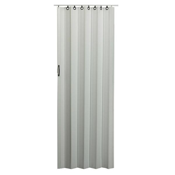 Nuevo Folding Door - White with Black Hardware