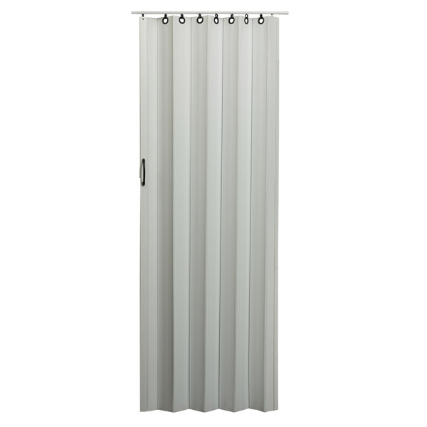 Nuevo Folding Door - White with Black Hardware
