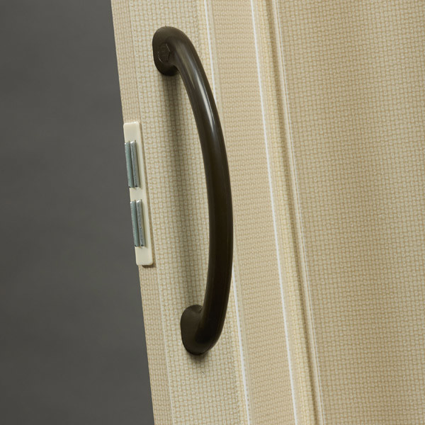 Nuevo Handle Detail - Linen with Brown