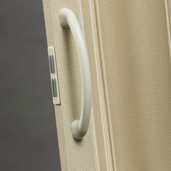 Nuevo Handle Detail - Linen with Cream