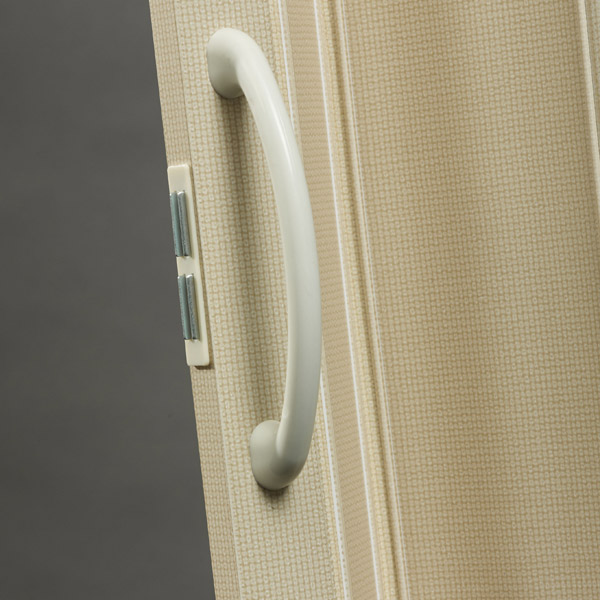 Nuevo Handle Detail - Linen with Cream