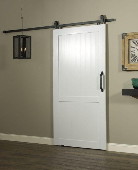 PVC Barn Door 42 inch - White