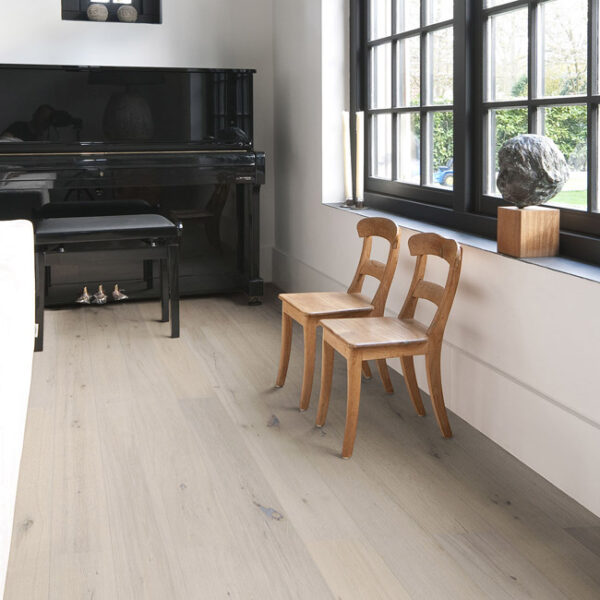 Calista Smoked White Oak Wood Flooring - Oak Rustic
