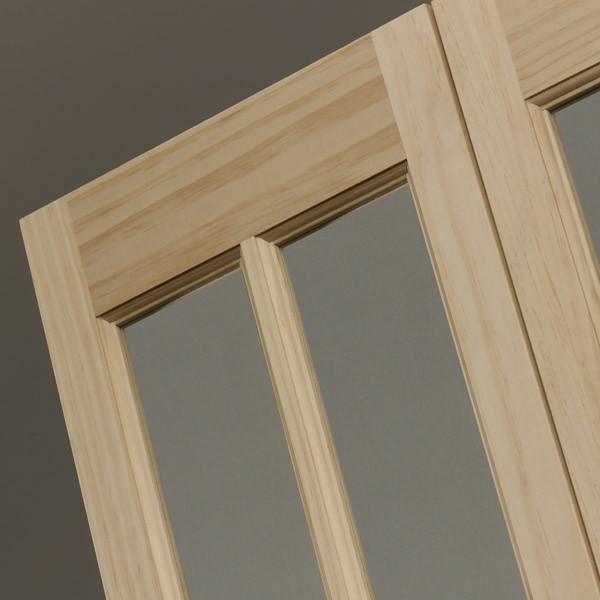 Traditional Glass Bifold Door - Natural Detail