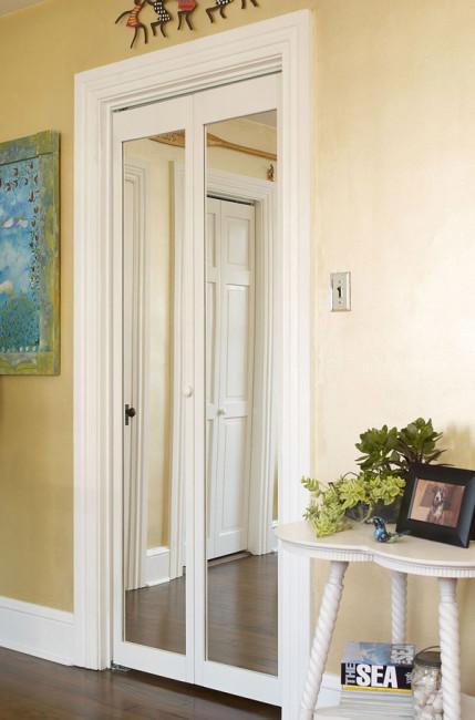 Traditional Mirror Door - Room View