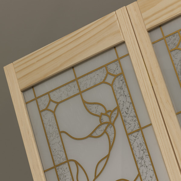 Tuscany Bifold Door- Natural Detail