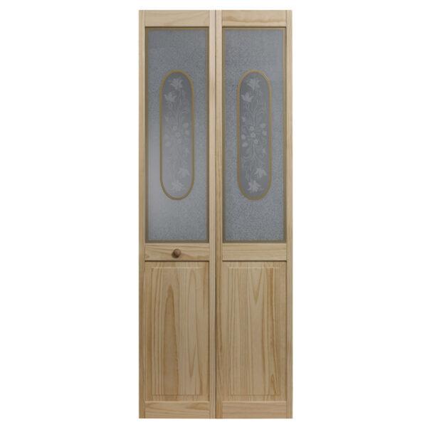 Victorian Glass Bifold Door - unfinished