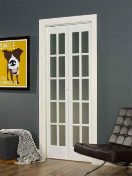 Wood/Glass Bifold Doors